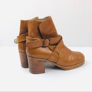 Silga Bronx Beige Vintage Leather Shoe 36